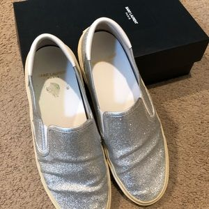 Saint Laurent slip on sneakers